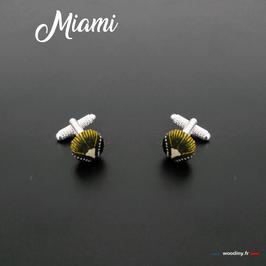 """Boutons de manchette """"Miami"""""""