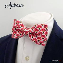 "Noeud papillon rouge ""Ankara"""