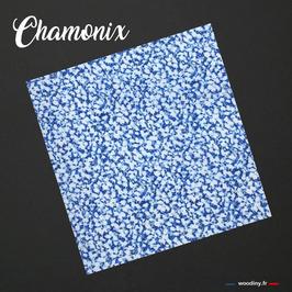 """Pochette de costume bleue """"Chamonix"""""""