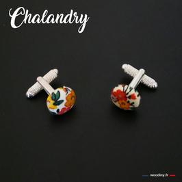 """Boutons de manchette """"Chalandry"""""""