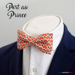 "Noeud papillon orange ""Port aux Princes"""