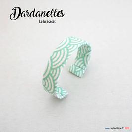 """Bracelet vert d'eau """"Dardanelles"""""""