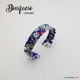"""Bracelet en tissu liberty """"Bonifacio"""""""
