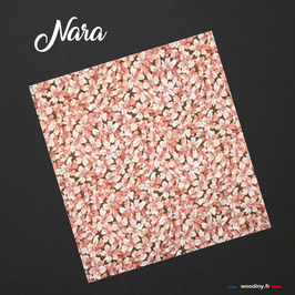"Pochette de costume rose ""Nara"""