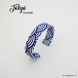 "Bracelet en tissu ""Tokyo"""
