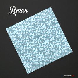 """Pochette de costume bleue """"Léman"""""""