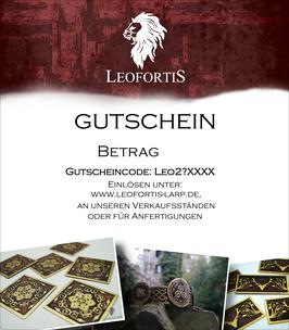 Gutschein Email/PDF