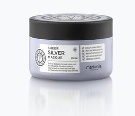 Sheer Silver Masque