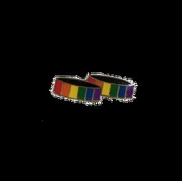 Regenbogen-Anstecker Eheringe