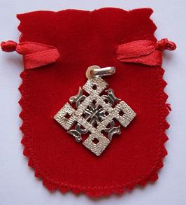Colgante de plata - Cruz ortodoxa