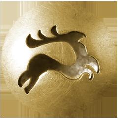 """Manschettenknöpfe """"Artemis"""" offen Gold 750/000 Paar"""