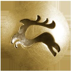 """Anhänger """"Artemis"""" offen Gold 750/000"""