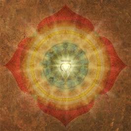 Wandbild Muladhara -  1. Chakra