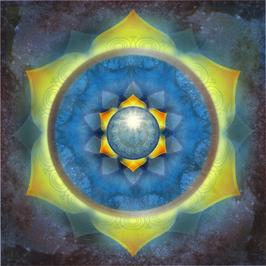 Wandbild Swadhisthana -  2. Chakra