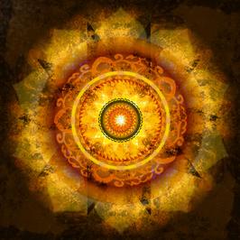 Wandbild Manipura -  3. Chakra