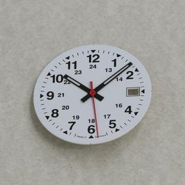 Set:  29.5mm  Ziffernblatt mit Zeigern 9/13/13 BGW9 für ETA 2824-2 / set: dial with hands for ETA 2824-2