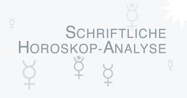 ASTROlogische Analyse des Geburtshoroskops (gedruckte Version DIN A4 - inklusive Horoskop-Grafik und postalischem Versand)