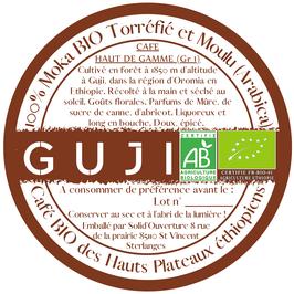 Pack Découverte de Cafés Grand Cru d'Ethiopie, torréfiés et moulus.