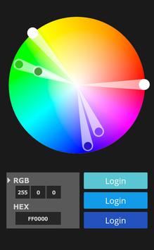 Colour customisation of your login-modul