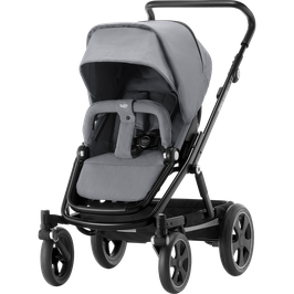 BRITAX Go Big2 Buggy, Steel Grey, Gestell schwarz