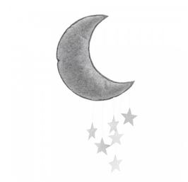 Konges Slojd Mobilé Mond, silber