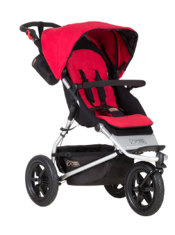 Mountain Buggy Urban Jungle Buggy, rot/berry