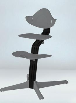 Nomi Hochstuhl, schwarz lackiert
