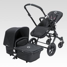 Bugaboo Cameleon all black Komplett-Set