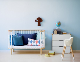 FLEXA Baby- und Kinderbett, inkl. Matratze