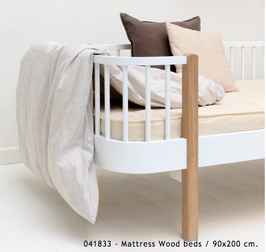 Matratze 90x200 cm Oliver Furniture Seaside/ Wood