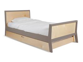 Oeuf Sparrow Einzelbett/ Jugendbett 200x90cm Birke/Grau