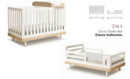 Oeuf Classic Umbauset für Kinderbett 70 x 140 cm Weiss