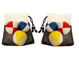 Aktion: Jonglierbälle 3er Set Doppelpack im Beutel