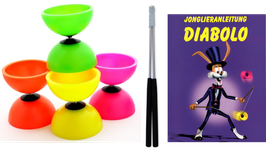 Diabolo für Schulen: Set Diabolo + Handstäbe