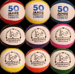 Personalisierte Jonglierbälle mit Logo