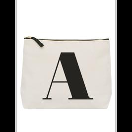 Grosses Washbag mit alphabetischen Buchstaben