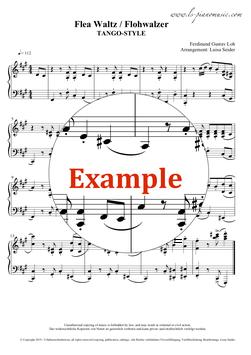 Flohwalzer (The Flea Waltz) - TANGO-STYLE