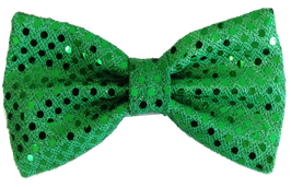 Wizard of Pawz Green Bow Tie