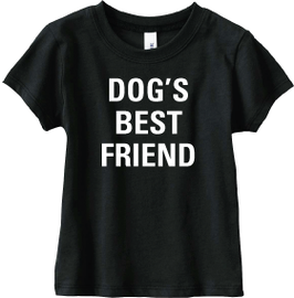 Dog's Best Friend Vintage Black Short Sleeve Tee