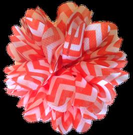 Barko Polo Orange & White Flower