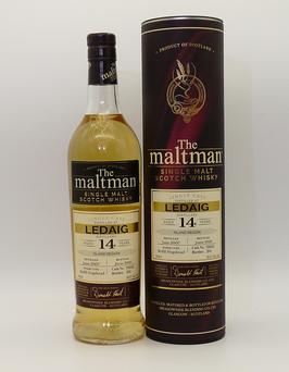 Ledaig 14 Jahre 2007 Maltman Cask 700643