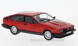 Alfa Romeo GTV 6 Phase II 1983-1986 rot / schwarz