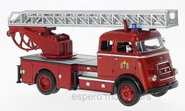 DAF A 1600 Feuerwehr Amsterdam 1962 rot
