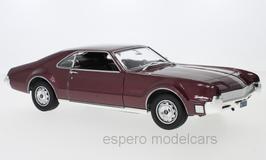 Oldsmobile Toronado I Phase I 1965-1967 dunkelrot met.