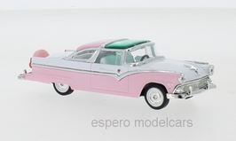 Ford Crown Victoria Coupé 1955 pink / weiss