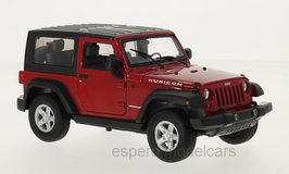Jeep Wrangler seit 2007 rot / schwarz