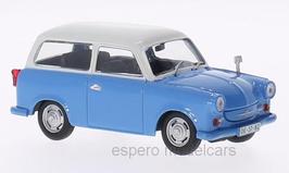 Trabant P50 Kombi 1957-1962 blau / weiss