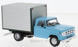 Dodge D-400 Box Van / Lieferwagen 1971 hellblau / silber