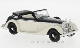 Alvis 4.3 Litre Drophead Convertible 1936-1940 RHD hellbeige / schwarz