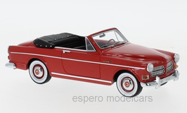 Volvo 122 S Amazon Coune Convertible 1963 rot